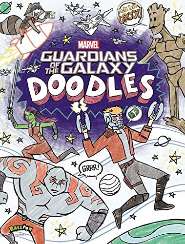 Brandon T. Snider, Tomas Montalvo-Lagos und Kurt Hartman: Marvel Guardians of the Galaxy Doodles