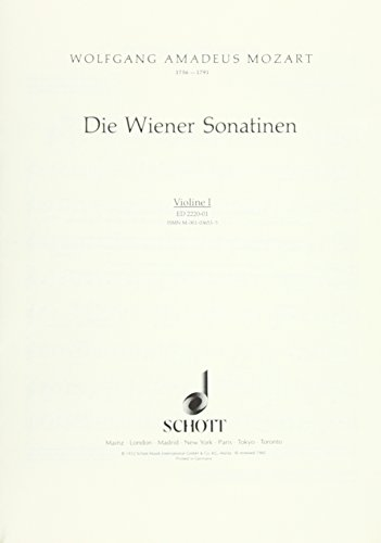 The Viennese Sonatinas Violons