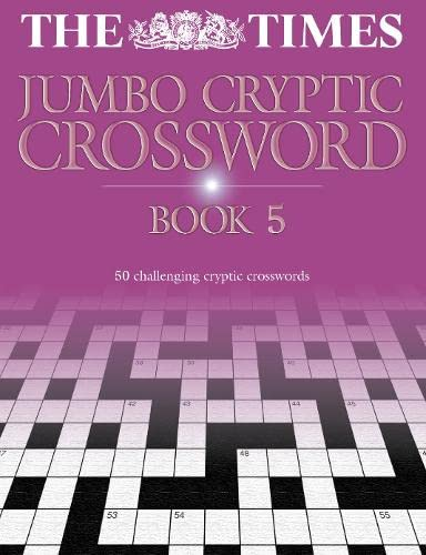 The Times Jumbo Cryptic Crossword Book 5: 50 world-famous crossword puzzles par  Mike Laws