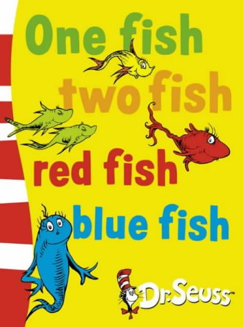 Dr seuss one fish two fish red fish blue fish reviews for Red fish blue fish dr seuss