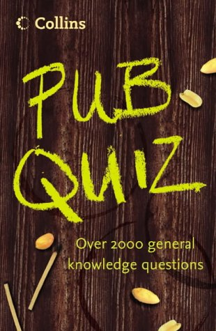 Collins, Pub Quiz Book