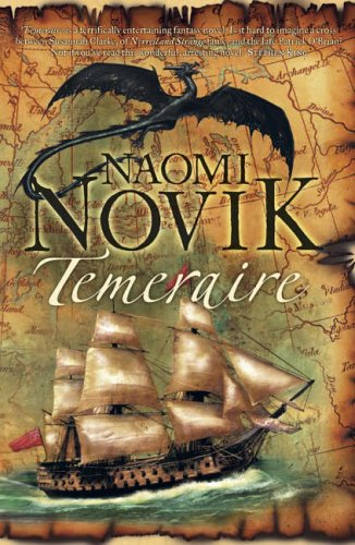 Temeraire, UK cover