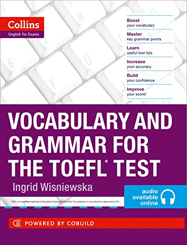 Vocabulary and Grammar for the TOEFL Test par Ingrid Wisniewska