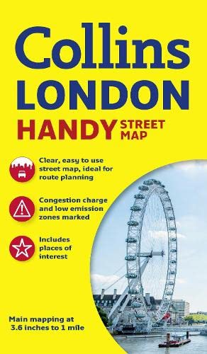 Collins Handy Street Map London par  Collins Maps