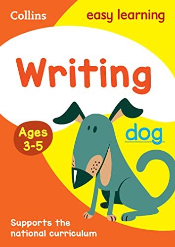 Writing: Ages 3-5 par Collins Easy Learning