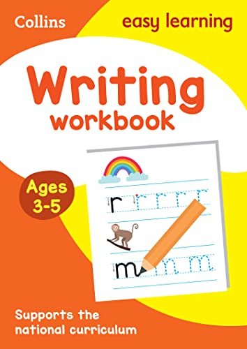 Writing Workbook: Ages 3-5