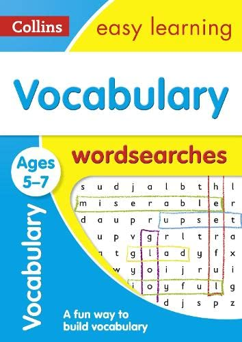 Vocabulary Word Searches Ages 5-7 par  Collins Easy Learning