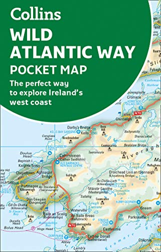 Wild Atlantic Way Pocket Map: The Perfect Way to Explore Ireland's West Coast