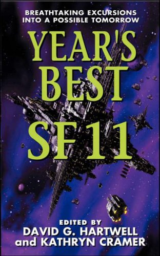 Hartwell and Cramer Year's Best SF cover