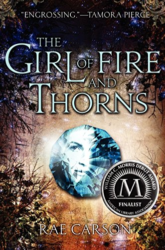 The Girl of Fire and Thorns US cover