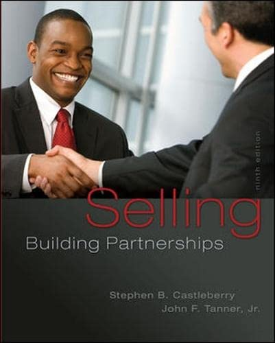 Selling: Building Partnerships