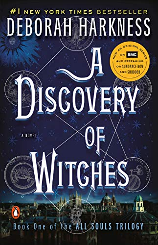 A Discovery of Witches US cover