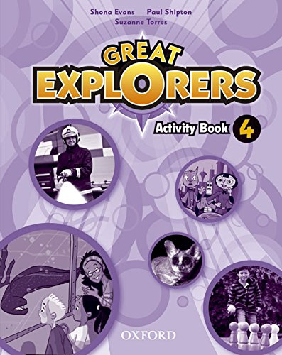 Great Explorers 4. Activity Book
