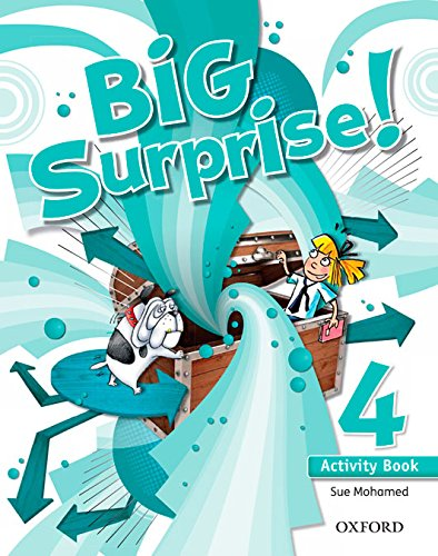 Big Surprise! 4. Activity Book + Study Skills Booklet