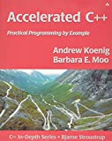 couverture du livre Accelerated C++: Practical Programming by Example