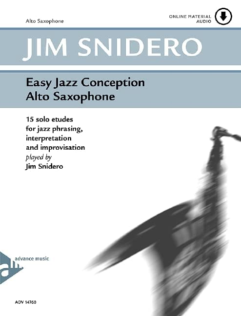 Easy Jazz Conception Saxophone +CD