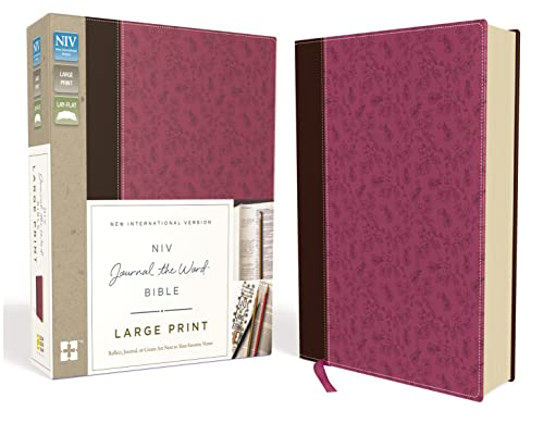 NIV Journal the Word Bible: New International Version, Orchid / Chocolate, Italian Duo-tone, Reflect, Journal, or Create Art Next to Your Favorite Verses
