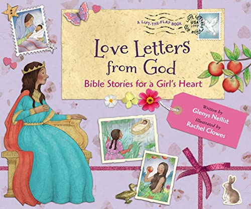 Love Letters from God: Bible Stories for a Girl's Heart