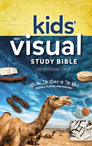 NIV Kids' Visual Study Bible: New International Version: Explore the Story of the Bible: People, Places, and History