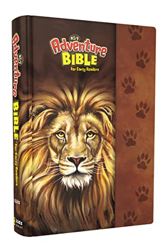 NIRV Adventure Bible for Early Readers: New International Reader's Version, Lion, Full Color Interior