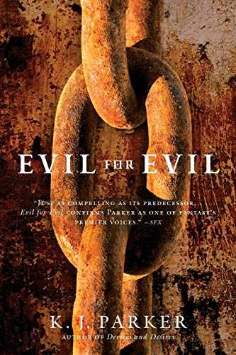Evil for Evil, US cover