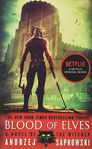 Blood of Elves, US cover