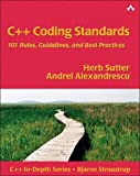 couverture du livre C++ Coding Standards