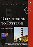 couverture du livre Refactoring to Patterns