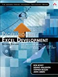 couverture du livre Professional Excel Development