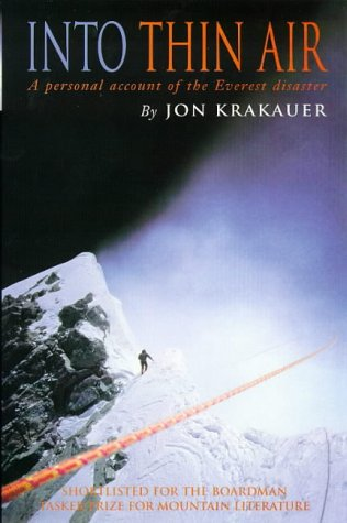Jon Krakauer, Into Thin Air: Personal Account of the Everest Disaster