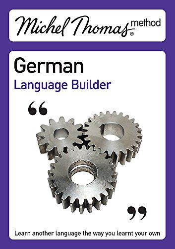 Michel Thomas, Michel Thomas German Language Builder (Michel Thomas Series)