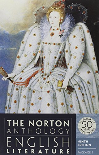 The Norton Anthology of English Literature 9e V 1 A, B, & C