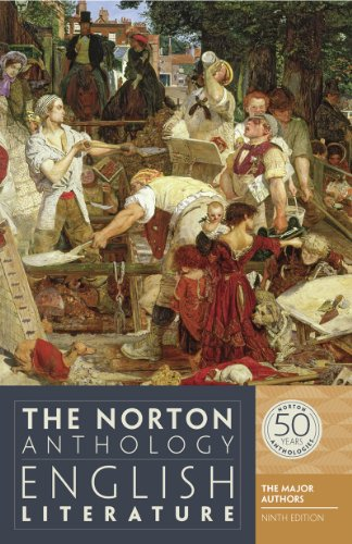 The Norton Anthology of English Literature – The Major Authors 9e 1Vol