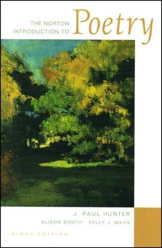 The Norton Introduction to Poetry with Media Companion 9e