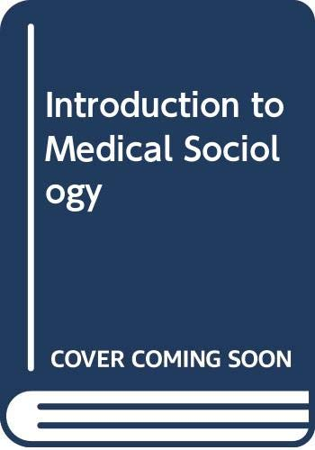 Introduction to Medical Sociology PDF Books