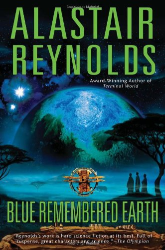 Blue Remembered Earth US cover