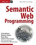 couverture du livre Semantic Web Programming
