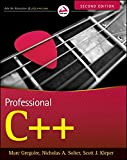 couverture du livre Professional C++