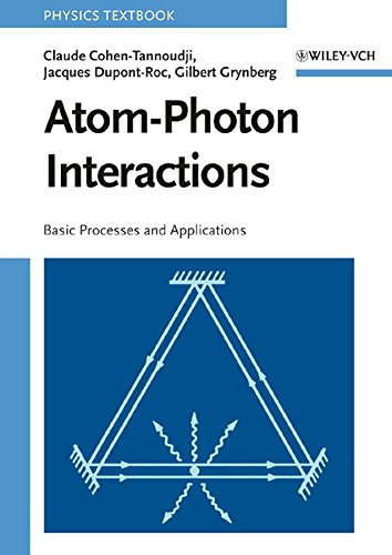 Atom–Photon Interactions: Basic Processes and Applications