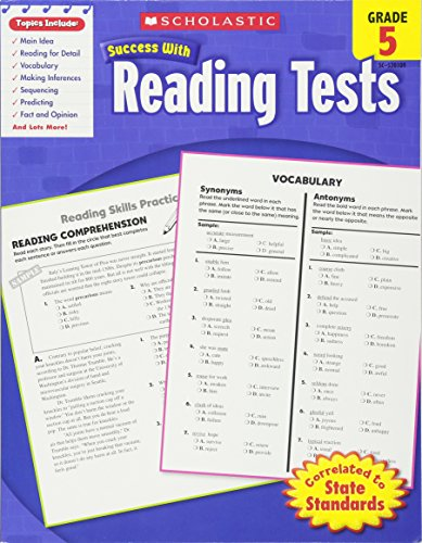 Scholastic Success With Reading Tests, Grade 5