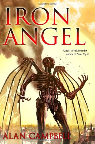 Iron Angel, US cover
