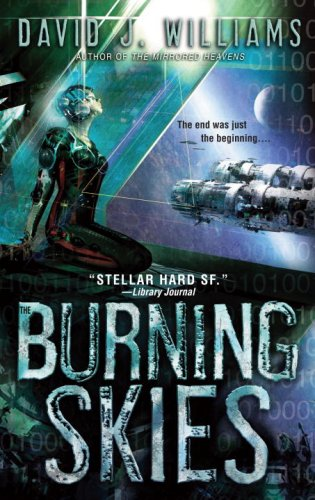 The Burning Skies cover