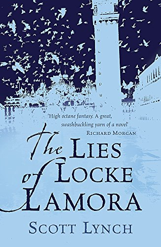 The Lies of Locke Lamora, UK cover