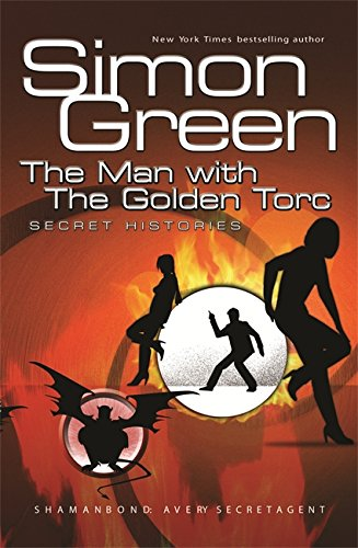 The Man With The Golden Torc, UK cover