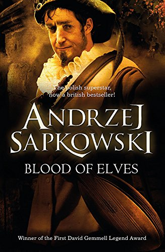Blood of Elves, UK cover