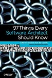 couverture du livre '97 Things Every Software Architect Should Know'