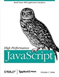 couverture du livre High Performance JavaScript