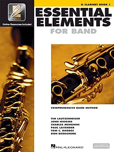 Essential Elements for Band: Comprehensive Band Method : Clarinet Book 1