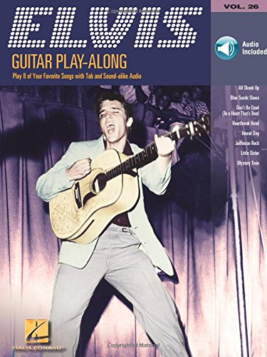 Guitar Play-Along Vol.026 Elvis Presley + Cd