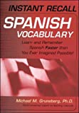 Michael Gruneberg, Instant Recall Spanish Vocabulary